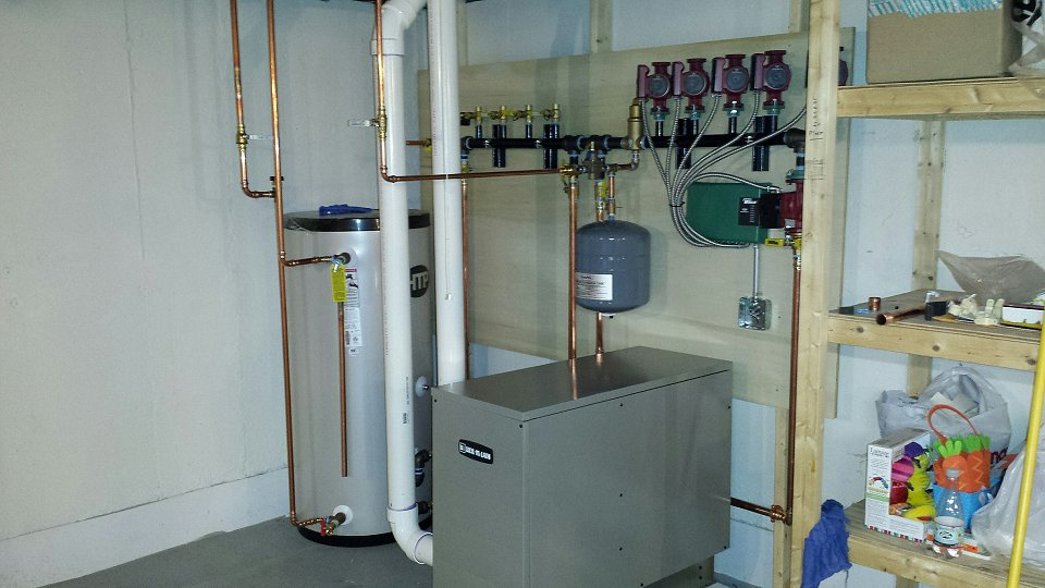 Weil Mclain High Efficiency System With Superstor Water Heater Lynnfield Ma